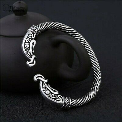 Viking Valhalla Valkyries Sacred Arm Ring Crows Bracelet Ragnar Lothbrok REPLICA