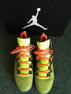 super popular 61786 ba13b NIKE AIR JORDAN XX8 28 SE Volt Gold, Black, Infrared Basketball Shoes Mens  10.5