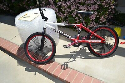 "REDLINE Flight 3//7 Bar CrMo BMX Bike Handlebar RED 28/""//8.25/"""