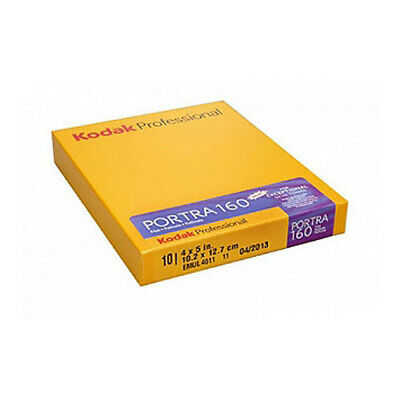 *NEW* Kodak Portra 160 4x5 Sheet film (10 sheets)