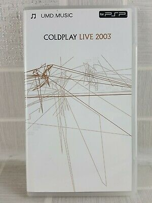 Coldplay - Live 2003  UMD Mini for PSP   Russell Thomas - UK FREEPOST         (3