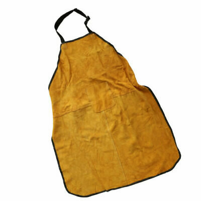 FJ- Welder Welding Storage Heat Insulation Flame Resistant Aprons with Sleeves