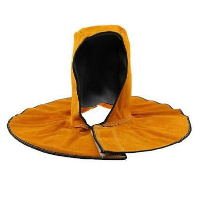 FJ- Welder Hood Mittens Shoes Cover Cowhide Leather Flame Resistant Apron