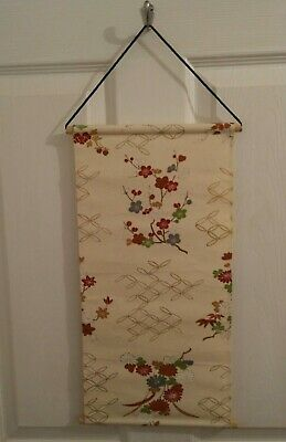 Vintage Hand Made Japanese tapestry - plum tree