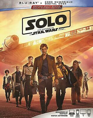 Solo: A Star Wars Story BILINGUAL BLUE RAY Canadian Vendor *HOT*