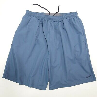 cc946c6dc47 Boys Nike FITDRY Blue L 28 30 32 Nylon 4-Pockets Swim Trunks Board Shorts