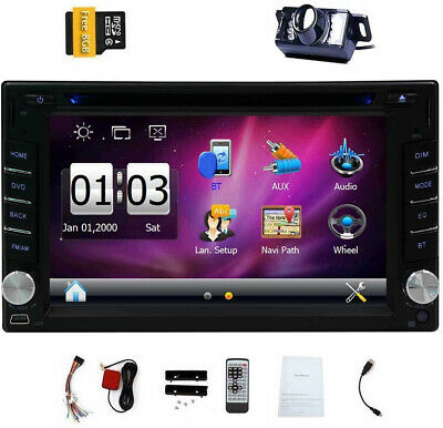 """hd 6 2\"""" double 2din in dash car stereo dvd player gps navigationeincar 6 2 inch universal double 2 din in dash car cd dvd player gps stereo usb"""
