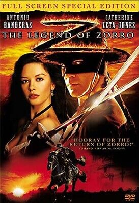 The Legend Of Zorro New Dvd Free Shipping