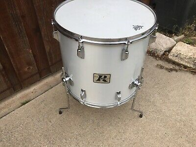 "1970's Rogers 18""  Maple Floor Tom Drum- Excellent Condition!!"