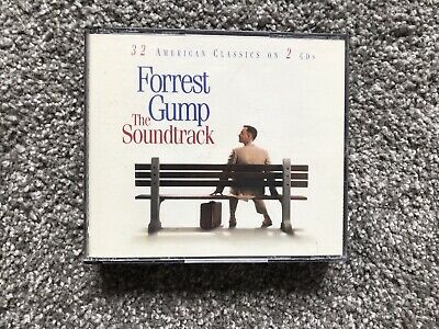 Forrest Gump The Soundtrack Cd 32 American Classics On 2 Cds In Good Condition