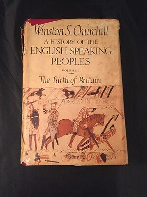 Winston S Churchill A History Of The English Speaking People's Volume The Birth