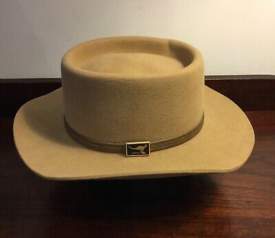 Classic Australia Country Style - Gordon Grover Houston Pure Fur Felt Hat - HTF