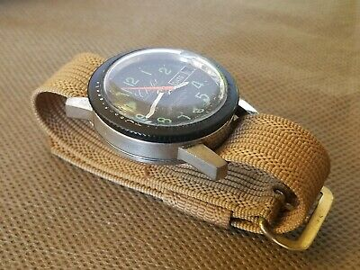 Vintage Chalet Dive Watch. T Swiss Made T 60m 200Ft on Vintage Nato
