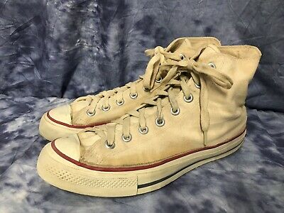 0ac77d00b8c7 VINTAGE CANVAS WHITE Chucks JACK PURCELL Converse Sneakers Shoes USA ...