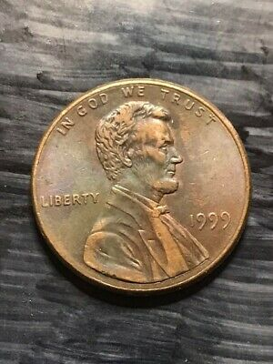 1999-P Lincoln Memorial Cent Penny Coin with DDR Double Die Error E123