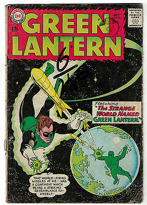 DC Comics GREEN LANTERN Issue 24 The Strange World Named Green Lantern! VG-