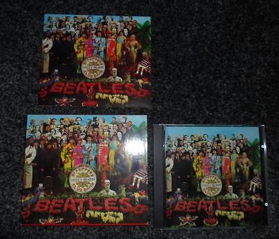 SGT PEPPERS LONELY HEARTS CLUB BAND BEATLES Booklet case card sleeve cd