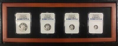 NGC PF70 2007 W Platinum Eagle Early Releases Ultra Cameo $10 $25 $50 $100 Set