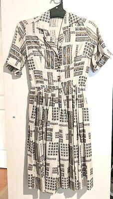 Authentic Vintage Shirtwaist Dress, XS / S
