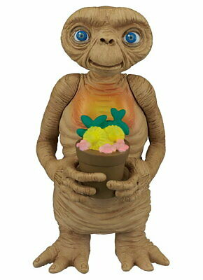 E.T. the Extra Terrestrial Famous Scene Figure Collection ET and Potted Plants