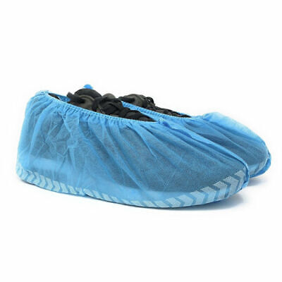FJ- 100Pcs Thickened Non-woven protective gear cleanly Shoe Covers Overshoes