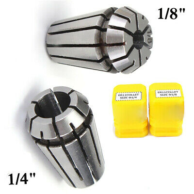 Tool Spring Collet Boring Drilling Engraving Metalworking Accessories 2pcs ER11