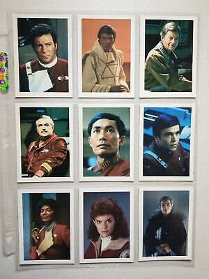 STAR TREK III The Search For Spock base set 52 of 60 MISSING x8 cards 1984