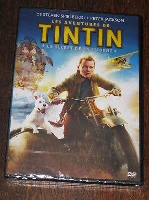"New Film DVD ""LES AVENTURES DE TINTIN Le Secret De La Licorne"" [NEUF SOUS CELLO]"