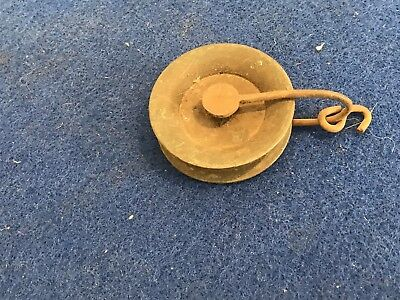 Grandfather Clocks Movement Pulley With Weight Hook