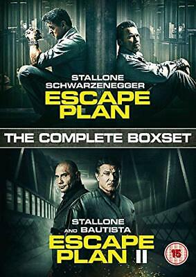 Escape Plan 1 + 2 Boxset [DVD] New Sealed UK Region 2 - Sylvester Stallone