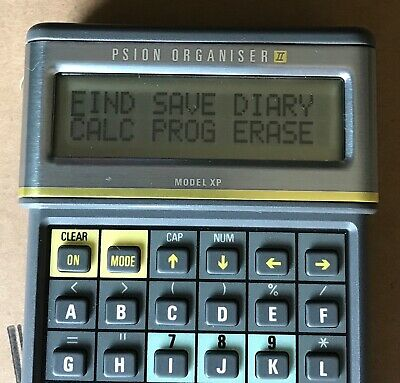 Psion Organiser II Model XP - Excellent condition