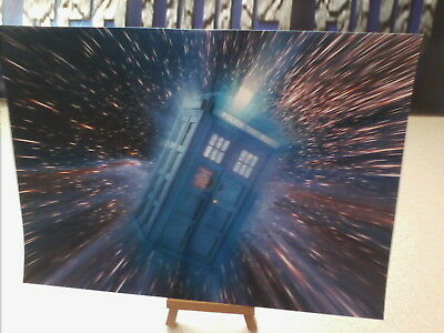 DOCTOR WHO classic tardis in flight print