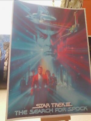 Star Trek III: The Search for Spock (1984) movie poster print