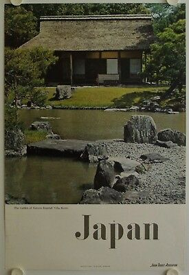Affiche Tourisme JAPAN - THE GARDEN OF KATSURA IMPERIAL VILLA - KYOTO