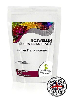 Boswellin Serrata 30mg 7/30/60/90/120/180/250/500/1000 Tablets UK