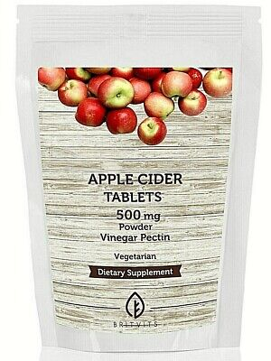 Apple Cider Vinegar 400mg 7-30-60-90-120-180-250-500-1000 Capsules UK