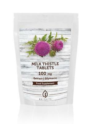 Milk Thistle 100mg Extract 30-60-90-120-180-250-500-1000 Tablets