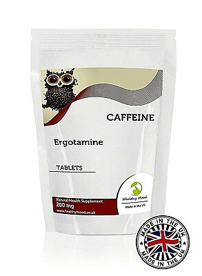 Caffeine 200mg Ergotamine 7-30-60-90-120-180-250-500-1000 Tablets UK