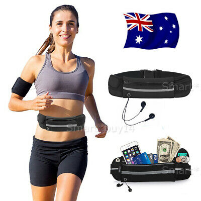 Running Bum Bag Fanny Pack Travel Waist Bags Money Zip Belts Pouch Sports Wallet
