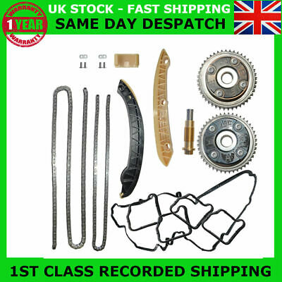 Fit Mercedes M271.944 M271.954 163Bhp 184Bhp Timing Chain Kit + Camshaft Gears