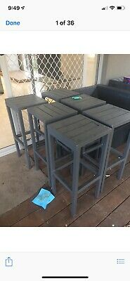 Outdoor Cafe / Dinning Table + 4 stools