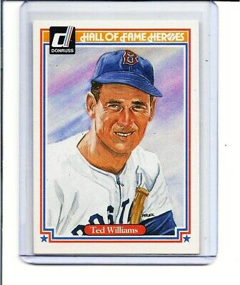 Ted Williams - Boston Red Sox - 1983 Donruss - Hall Of Fame Heroes - Card #9
