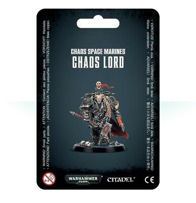 Chaos Space Marines Chaos Lord Games Workshop Warhammer 40,000 Brand New