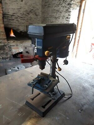 Bench drill press, pillar drill with vice