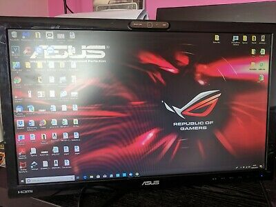 "ASUS VK228H 21.5"" HDMI LED Monitor With Integrated Webcam **Includes wall mount*"