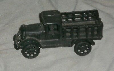Vintage Cast Iron Reproduction Truck Paperweight