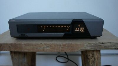 QUAD 66 FM tuner with new station memory accu/battery