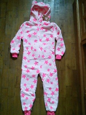 Next Girls Pink Star All In One 7 Years 122cm  Brand New With Tags!
