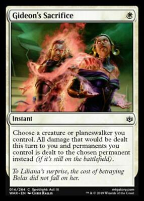 NM War of the Spark White Uncommon 4x Sunblade Angel