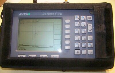 Anritsu S113B Site Master 5-1200MHz new Battery,new Charger s/case Fully Tested!